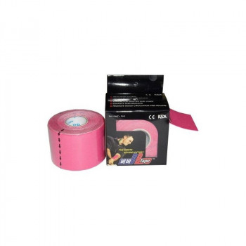 BB Tape Neuromuscular 5 cm x 5 m. Color rosa..