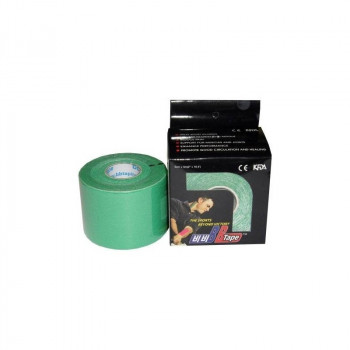 BB Tape Neuromuscular 5 cm x 5 m. Color verde